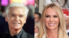Phillip Schofield and Amanda Holden avoid awkward run-in as they both skip ITV summer party