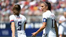 Olympic delay let Alex Morgan 'breathe a little bit' while planning return from pregnancy