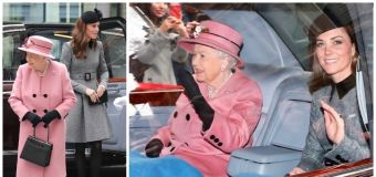 Kate and the Queen melt hearts by sharing a blanket