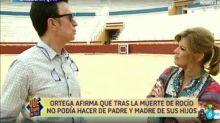 "Ortega Cano se sincera con Terelu: ""Pienso a diario en Rocío Jurado"""