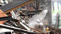 Medical Examiner, Cadaver Dogs On Scene Of East Village Explosion Site