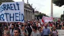 Thousands Rally in Dublin Against Military Offensive in Gaza