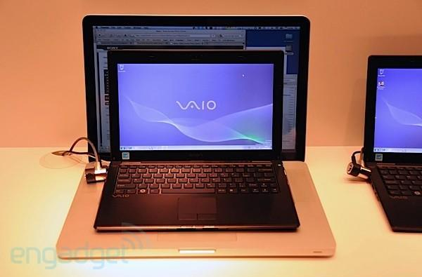 Sony VAIO X slimster hands-on