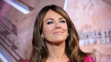 Elizabeth Hurley, 55, celebrates fall in pants-free photo: 'Cold weather is coming'