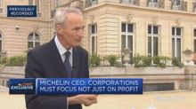 'Sustainable capitalism' can stem the tide of populism, Michelin CEO says