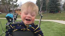 Garotinho com síndrome de Down emociona ao falar sua primeira palavra