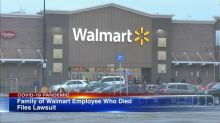 Family of a Walmart employee who died from COVID-19 files lawsuit