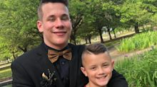 Louisiana Teen Hilariously Surprises Younger Brother at Bus Stop with Different Costumes Every Day