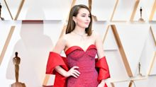 Kaitlyn Dever paired $47 Aldo heels with a sustainable gown at the Oscars