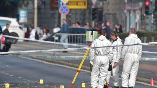 Two injured in suspected Hungary bomb blast