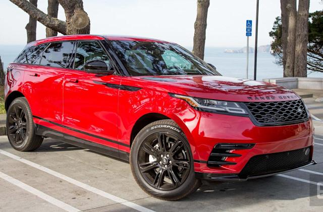 The Velar is a Land Rover for (rich) tech-lovers