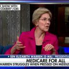 Elizabeth Warren struggles when pressed on middle class tax hike