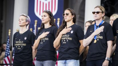 Politicians make power play in USWNT equal pay fight