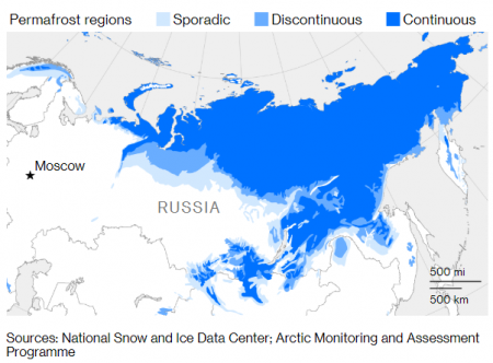 Russia Scrambles To Save Energy Industry From Climate Change