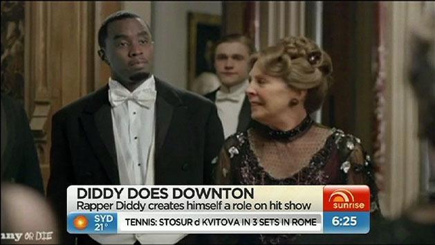 Diddy in Downton Abbey spoof