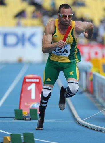 Atletismo - La IAAF preferiría que Pistorius fuera el primer relevista en 4x400m