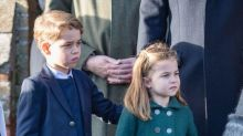 Prince George and Princess Charlotte's writing is so cute