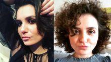 """Monica Iozzi exibe novo visual: """"Essa sou eu com permanente"""""""