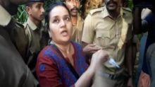 #SabarimalaRow: Woman journalist treks Sabarimala, forced to return by devotees