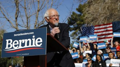 Sanders and Bloomberg rise, Biden falls in new poll