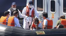 Migrant crossings in Channel reach record high