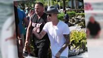 Justin Bieber Celebrates Fourth of July Weekend on a Yacht