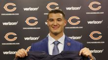 New Bears QB Mitchell Trubisky attends Bulls game, Chicago fans boo him