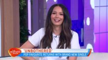 How did Ricki-Lee become 'unbothered'?
