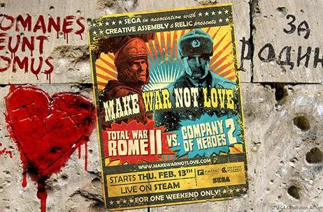 Total War: Rome 2, Company of Heroes 2 brawl for free DLC this weekend