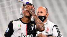 Foot - ITA - Juventus - Danilo (Juventus Turin) contraint de sortir après un violent choc à la tête