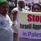 Protests in Bangladesh over Israel-Gaza conflict