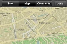 Apple using OpenStreetMap data in iPhoto for iPad