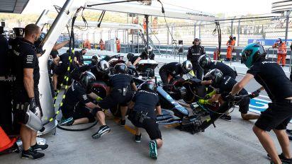 Mercedes:對於輪胎的擔憂提早了Hamilton的進站