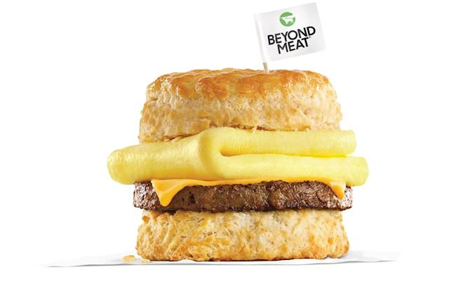 Beyond Meat breakfast options are coming to Carl's Jr. and Hardee's