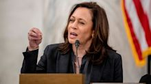 'Talk with your lawyer, Bill Barr:' Kamala Harris warns Trump against attempt to 'suppress the vote'