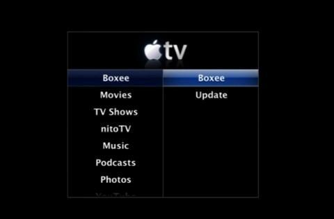 Boxee / XBMC now available on Apple TV