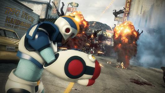 Dead Rising 3 includes Mega Man gear, if you can earn it