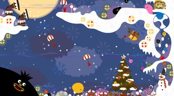 New LocoRoco Midnight Carnival DLC just in time for the holidays