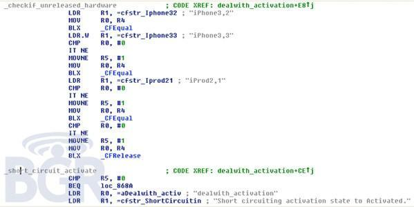 New iPhone, iPad model codes set up for iTunes activation bypass -- CDMA versions, maybe?