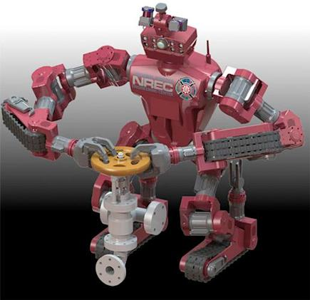 Carnegie Mellon's Chimp robot is reporting for duty, sir