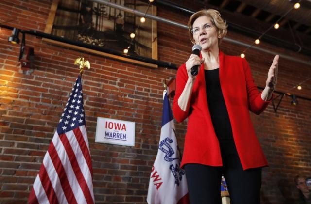 Elizabeth Warren pledges to break up Facebook, Google and Amazon