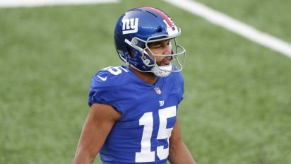 Giants cut WR Golden Tate after rough 2020