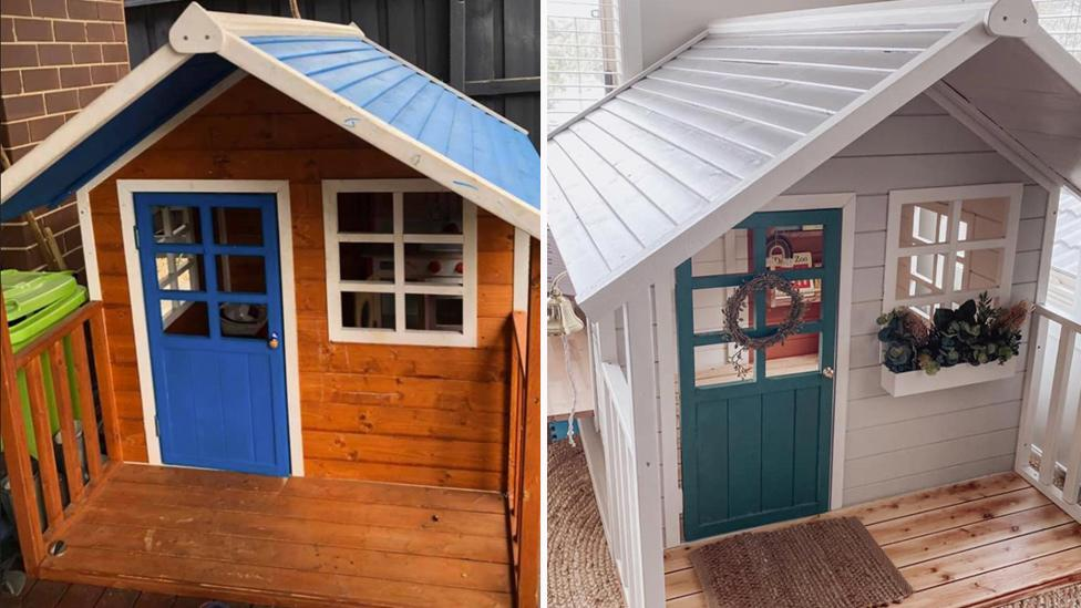 'It's nicer than our actual house': Mum's epic Bunnings cubby house transformation