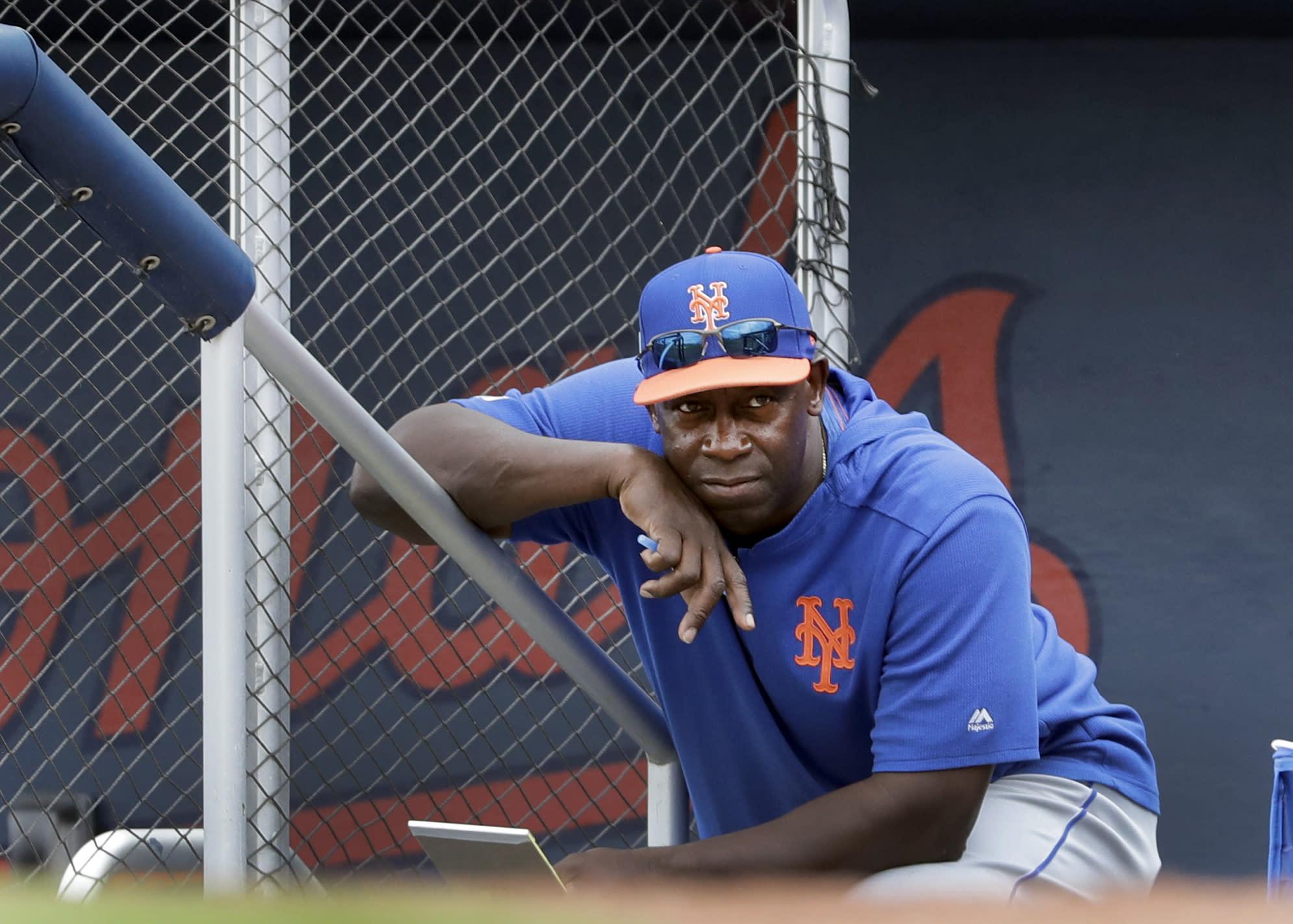 Mets Hitting Coach Baseball