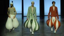 Calças infláveis de Latex são a trend que você não sabia que precisava