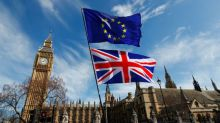 'Plaster may fall off the ceiling': Britain sees tough EU talks