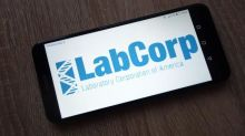 LabCorp (LH) Base Line Growth Solid, COVID-Related Sales Drop