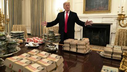 Trump's McDonald's binge a win for fast-food chains