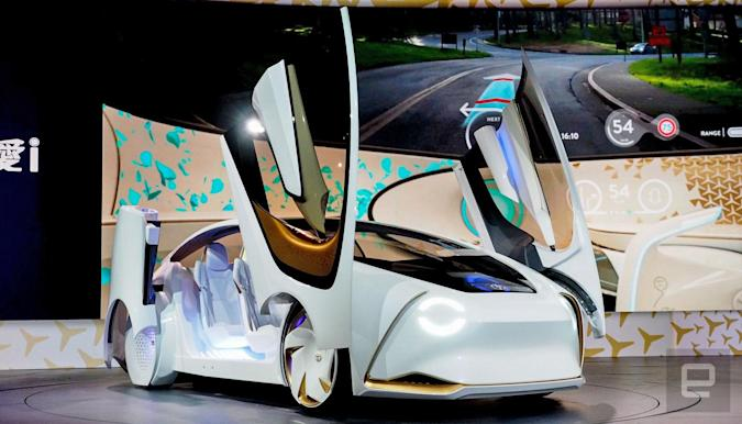 The designer behind the Toyota Concept-i talks about being friends with a car