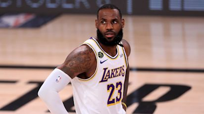 As Lakers reach Finals, LeBron's mind on Kobe